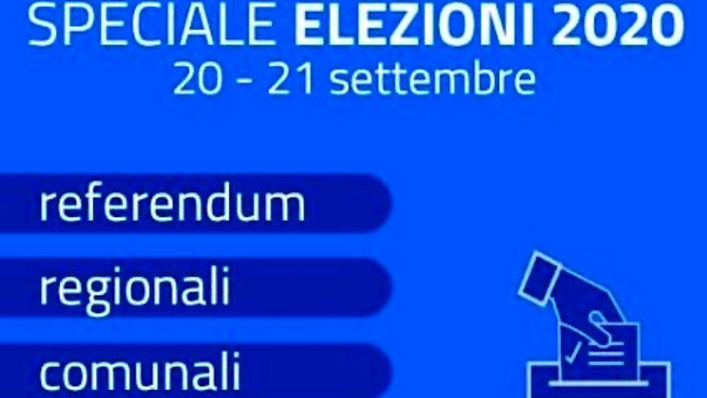 ELEZIONI DEL 20 E 21 SETTEMBRE 2020