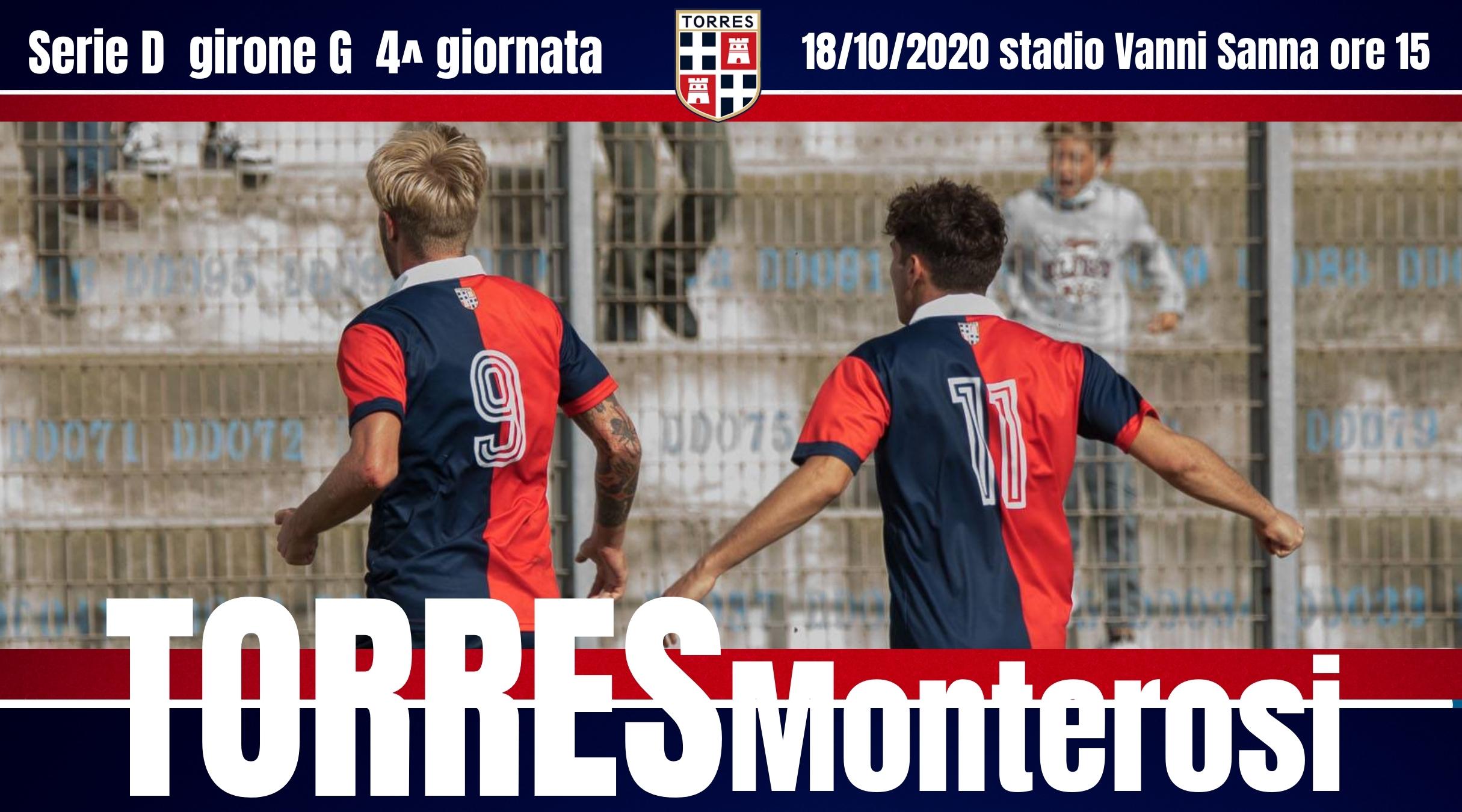 TORRES | Info biglietteria Torres vs Monterosi
