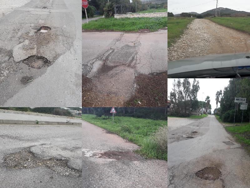 Maristella, strade disastrate, l'Amministrazione Comunale non interviene